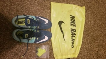 Women's Nike track shoes size 8!