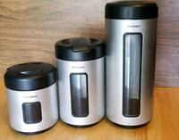 Set of 3 cuisinart canisters Urbandale, 50322