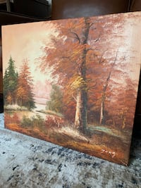 Oil Painting - Fall