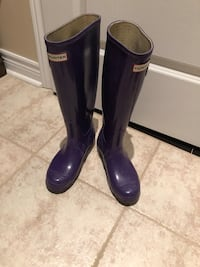Purple hunter rain boots Vaughan, L6A 2N8