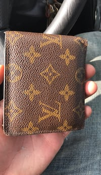 brown leather Louis Vuitton wallet Lovettsville, 20180