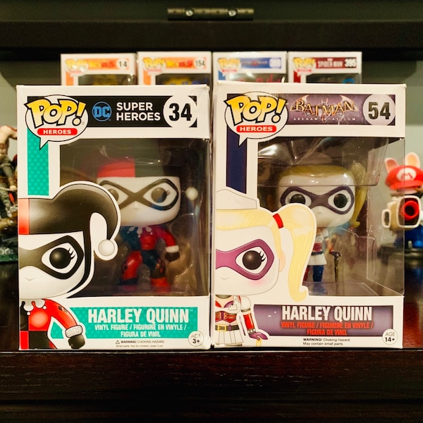 Funko POP! Harley Quinn - Bundle of Two