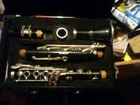 black and silver clarinet in case Tacoma, 98444