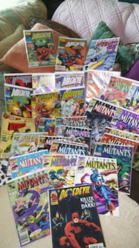Assorted Marvel comic book collection Henderson, 42420