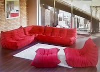 red and white sectional couch Columbia, 21046
