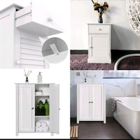 Yaheetech Shoe Cabinet Cabinet and Bedside Table Cabinets Houston, 77079