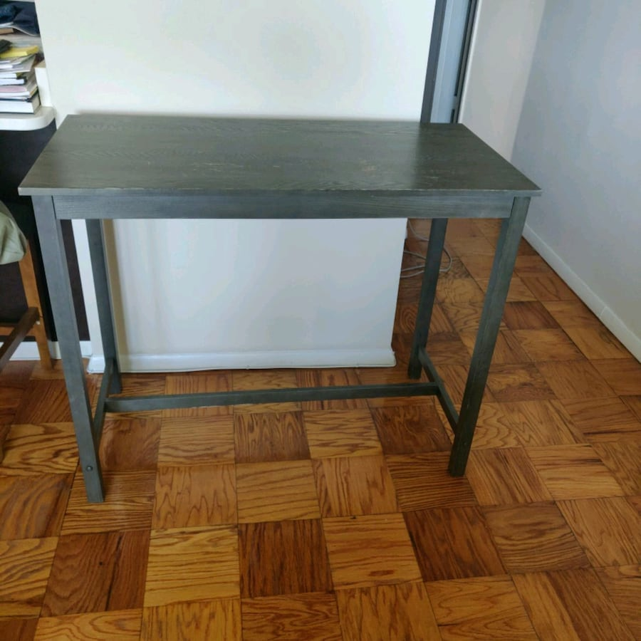 Counter Height Pub Table - Gray wash