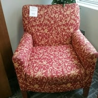 Red and gold chair  Oakville, L6L 5N1