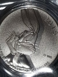 Bugs Bunny pure silver limited edition coin Canada