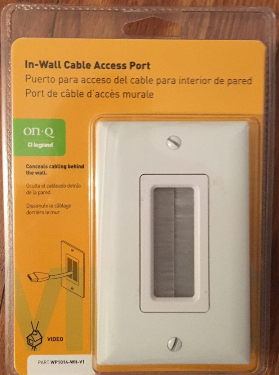 In Wall Cable Access Ports Home Design Ideas Onq Coax Wiring Used Port Asheville
