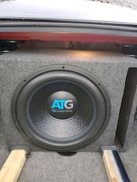 "ATG 15"" subwoofer and a 4500 watt ATG amp Saint CLR SHORES, 48081"