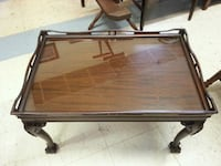 Antique Mahogany Ball and Claw Foot Coffee Table Bechtelsville, 19505