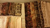 100% Cotton Fabric (for quilting) 60 yards total Seattle