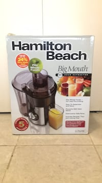 Hamilton Beach Big Mouth 800W Juice Extractor [NEW UNOPENED] Vancouver, V5T 1P1