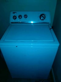 white top-load clothes washer 266 km