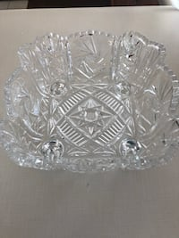 CRYSTAL BOWL EXCELLENT CONDITION!