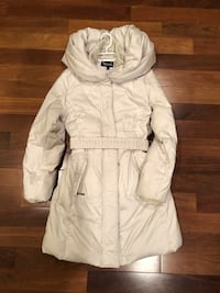 Gorgeous woman's winter coat Mint condition!  Size small.stylish hood Edmonton, T6G 1K8