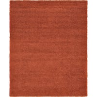 Unique Loom Solid Shag Terracotta 3 ft. x 5 ft. Area Rug Richmond Hill, L4B 4T9