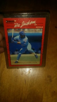 1990 Donruss Bo Jackson  Jeffersontown, 40299