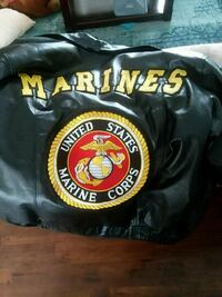 Marines leather jacket. Size xl Willowick, 44095
