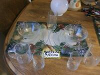 real crystal dishes Trumbull County, 44403