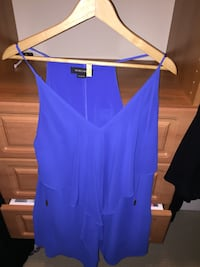 Marciano Blue silk dress Small Surrey, V3Z