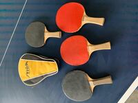 Ping Pong Table and Paddles NASHVILLE