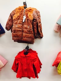 All brand new winter jackets closeout wholesale prices for $10. Hurry time limited offering only!JDS fashion We have a large selections of fashionware for men, women, and children at wholesale closeout priced open to the public . All summer must go $5 eac