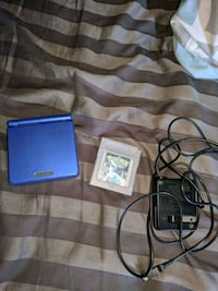 Gameboy advanced sp with pokemon silver Barrie