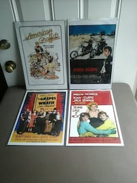 4 Mini Posters Griffith, 46319