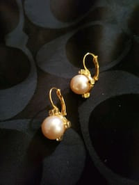 Beautiful Pearl Fashion Earrings Bowie, 20715