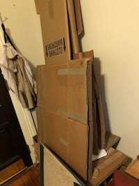 LOTS of Free moving & clothing boxes