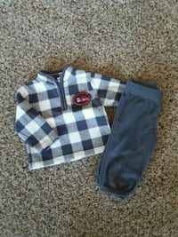 6-9mo fleece outfit  Oshkosh, 54904