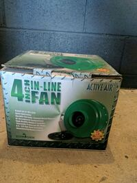 Active air 4 inch in-line fan Woodland Hills, 91364