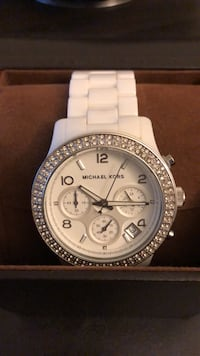 Michael Kors white porcelain watch Toronto, M2K