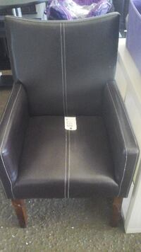 BLACK OFFICE CHAIR (LEATHER) Prattville