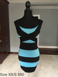 Blue and black dress size XS/S Toronto, M3H 4M9