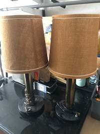 Vintage table lamps from ming edward hotel
