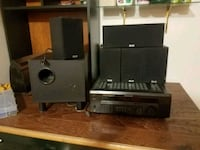 black and gray home theater system Albuquerque, 87108