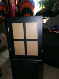 WOODEN TABLE TOP PHOTO BOX