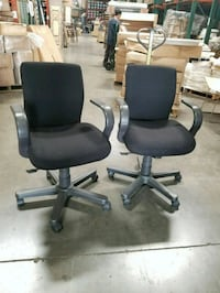 Office chairs - Price for both chairs  Rancho Cucamonga, 91730