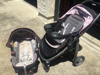 Baby's black and gray travel system San Ramon, 94583