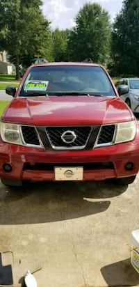 red Nissan vehicle Atlanta, 30305