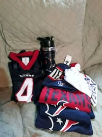 Assorted Texans Gear $5 and up Houston, 77016