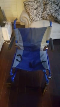 blue and gray medical transport chair Chilliwack, V2P 2P7