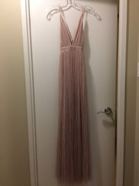 Honey Mauve Mesh Stripe Prom Dress Toronto, M2N 7E6