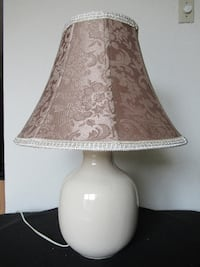 Ceramic table lamp with shade Burlington