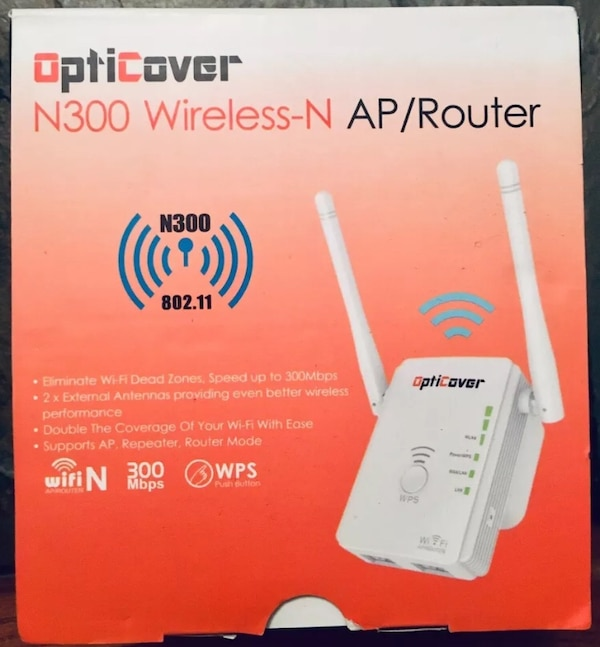 300mbps Wireless WiFi Repeater 802 11 AP Range Booster Extender Router-NEW!!