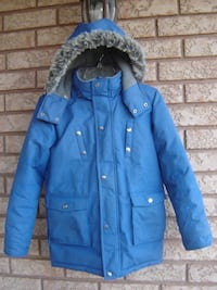 BARELY USED BOY'S SIZE 12 OSHKOSH WINTER JACKET WITH HOODIE QUICK SALE ONLY $50.00 FIRM! Mississauga
