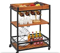 Wine and Beverage Cart